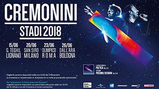 Video Promo – Cremonini Tour 2018