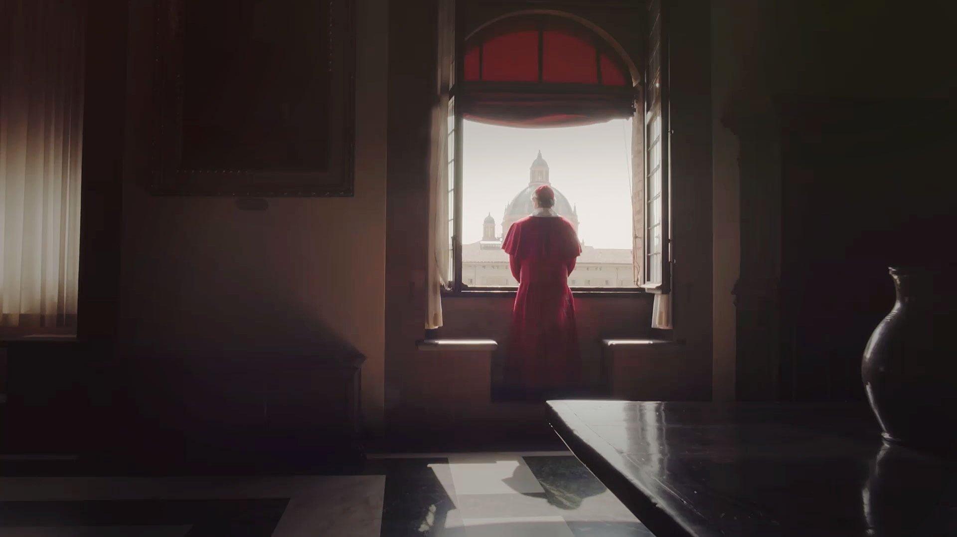 Cardinale alla finestra di Palazzo d'Accursio