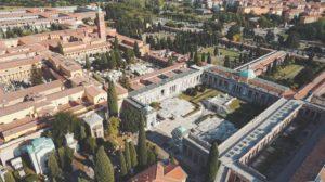 Foto aerea della Certosa di Bologna